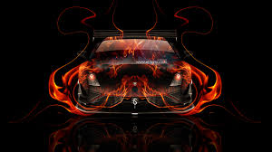 lamborghini gallardo tuning fire car