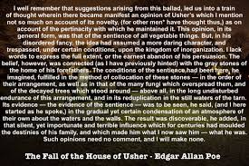 books flynn gray page  poe house of usher quote
