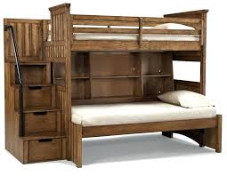 log loft bed with desk rustic bunk beds twin over full cedar queen double ladder right