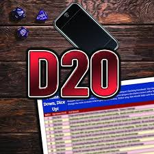 Phones Down Dice Up Dnd Roll Chart D20 Version