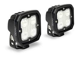 denali d4 flood spot hybrid led lighting kit revzilla