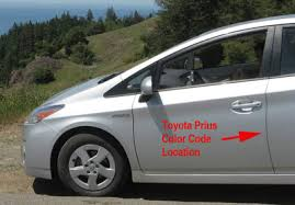 Toyota Touch Up Paint Color Code And Directions For