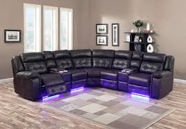Black sectional couches Fabric Sectional Image Of Black Sectional Sofas With Recliners And Cup Holders Summit Yachtscom Black Sectional Sofas With Recliners And Cup Holders Summit Yachtscom