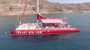 Dream Catcher Boat Santorini Ocean Voyager 100 YouTube 39