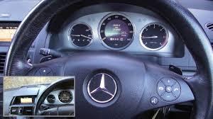 Mercedes C Class Engine Diagnostic Warning Light Mercedes C Class W204 Dash Warning Lights On Engine Start