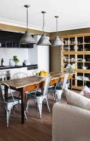 eat in kitchen lighting. vintage style eatin kitchen with fantastic metal pendant lights eat in lighting