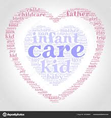 Care Word Cloud One Heart Another Heart Gradient Grey Background