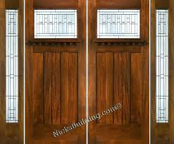 craftsman double front door. Idea Craftsman Style Entry Door With Sidelights For Exterior Top Double  Front And Qualified Mission Doors . M