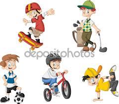 Výsledok vyhľadávania obrázkov pre dopyt obrázky kreslené o športoch