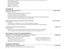 Carpenter Resume Example Journeyman Carpenter Resume Carpenter ...
