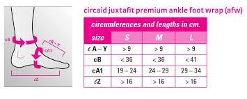 Circaid Juxtafit Premium Ankle Foot Wrap Inelastic Support