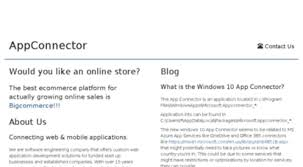 Welcome To Appconnector Com What Is App Connector