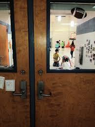 interior school doors. Gym With Panics And Deadbolts Cafeteria Door Deadbolt Interior School Doors