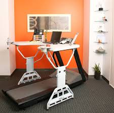 plastic office desk. Modern Sit To Stand Desk Treadmill With Plastic Swivel Chair In Measurements 1500 X 1492 Office