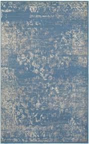 lr resources matrix 81176 blue light beige area rug