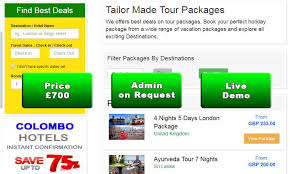 tour packages clone script best for