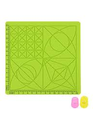 Silicone Design Shop Generic Silicone Design Mat For 3d Printing Pen Green