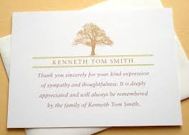 Personalized Sympathy Thank You Cards Writing Sympathy Thank You Cards Personalized Sympathy Cards Funeral