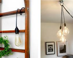 plug in hanging lighting. Pendant Lighting Etsy With Plug In Decor 19 Hanging