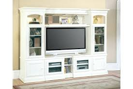 D Furniture Awesome White Entertainment Centers  Distressed Wood Center