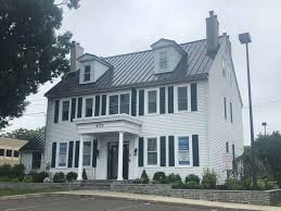 this converted colonial home is recently renovated with kitchens work spaces and common areas with easy accessibility to the nj interstate 295