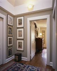 paint colors for hallwaysPerfect hallway  paint color artwork placement  NB all th