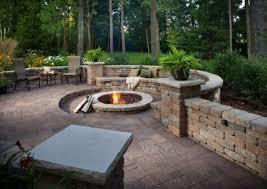 belgard backyard fire pavers