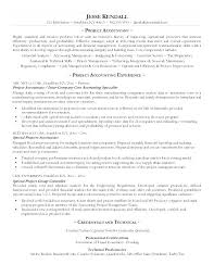 Accountant Resume Objective Entry Level Accounting Resume Objective ...
