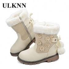 <b>ULKNN</b> Girls Boots <b>Kids Winter Boots Children</b> Spring Autumn Cute ...