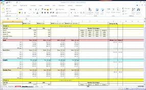 Attendance Tracker Spreadsheet Employee Attendance Tracker Template