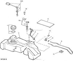 John deere parts diagrams john deere fuel tank fuel