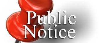 Image result for public notice clipart