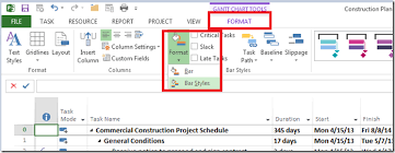 Ms Project Gannt Chart Adding Complete To Milestones In The Gantt Chart Mpug