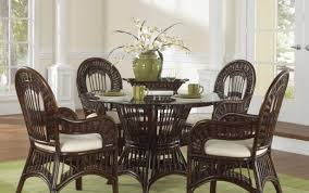 dining indoor rattan table outdoor and round sets antique room setting furniture wicker teak set white