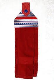 kitchen towel hanger. Red White And Blue Kitchen Towels Hanging Towel O Bath Tea Patriotic Hanger I