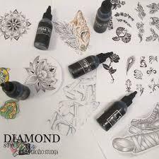 Diamond Style тату эскизы Alexgtattoo ссылка на