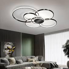 modern led ceiling lamp for living