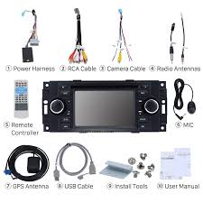 how to replace a 2002 2007 dodge caravan charger radio with audio 2007 Charger Stereo Wiring Harness check all the accessories for the new seicane car radio 2007 dodge charger stereo wiring harness