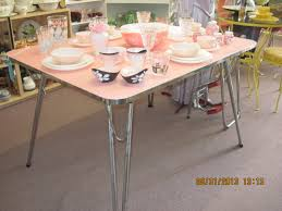 Round Formica Table Chrome Table Fabfindsblog