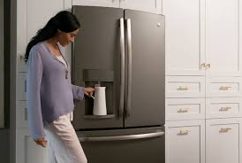 ge slate refrigerator. Any Slate Appliance Go Really Well With White Cabinets Ge Refrigerator W