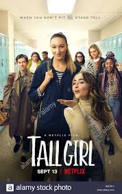 TALL GIRL, US poster, Griffin Gluck (far left); Ava Michelle (center);  Sabrina Carpenter (blowing kiss), 2019. © Netflix / courtesy Everett  Collection Stock Photo - Alamy