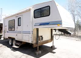 our diy camper is a 1992 vanguard fifth wheel travel trailer