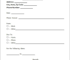 Free Doctors Note For Work Doctors Note Template Pdf Fresh 4 Free Doctors Note For Work