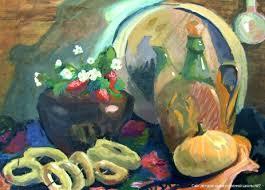 ГБУДО г Москвы Детская художественная школа № Дипломные   натюрморт живопись