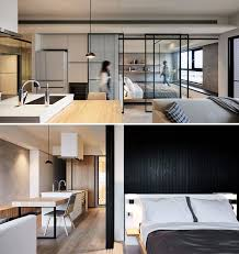 creating this modern studio apartment decor the designers from indot gave it a characteristic for the asian style design minimalistic expression