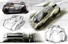 Lamborghini Le Mans Concept - Car Body Design