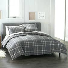 grey plaid flannel duvet cover slipcover winter home design apps for android red and black