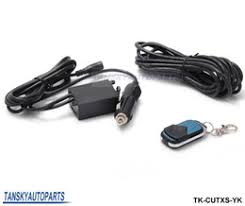 muffler cutout online muffler cutout for tansky high performance wireless remote 12ft wiring harness for electric exhaust muffler valve cutout system dump tk cutxs yk