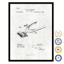 1881 Barber Hair Clipper Vintage Patent
