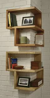 If you're struggling for space in a small apartment, it can be easy to  assume a bookshelf isn't an option. Luckily, this quirky corner shelf means  you can ...